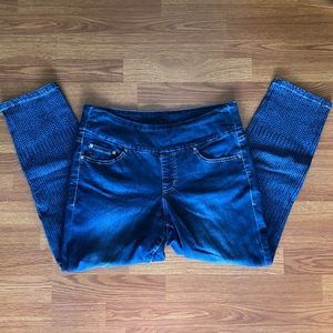 Jag Jeans 12 High Rise Skinny Ankle Elastic Waist